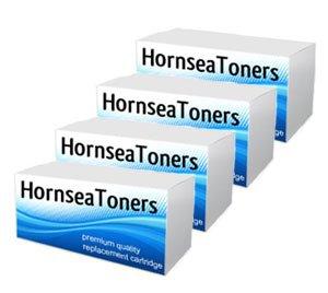 HornseaToners Lot de 4 toners pour imprimante laser HP Colour LaserJet Pro 200 / M251N / M251NW / MFP / M276N / M276NW