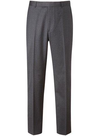 Austin Reed Regular Fit Sharp Charcoal Trouser REGULAR MENS 40