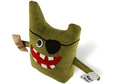 Fridge Raider Office Cronies Designer Plush Nottatoy