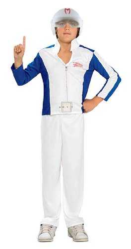 [Standard Speed Racer Costume - Child Small] (Childs Racing Driver Costume)