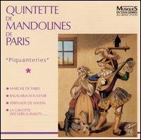 Piquanteries - Quintette de Mandolines de Paris (Audio CD)