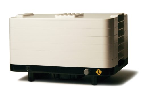 L'Equip 306210 530-Watt 6-Tray Food Dehydrator, White