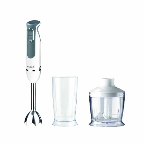 Breville VHB068 500 W White and Stainless Steel Hand Blender Set
