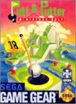PUTT & PUTTER MINIATURE GOLF SEGA GAME GEAR