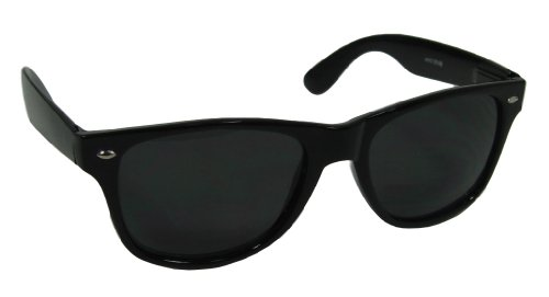 Best Seller Wayfarer Style Sunglasses Dark Lens Black Frame