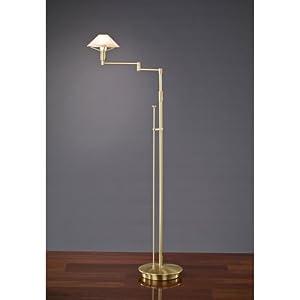 Holtkoetter 9434 bb abr lighting for the aging eye halogen for Halogen floor lamp amazon