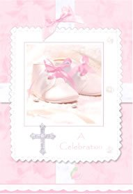 Tiny Blessing - Pink Invitations w/ Envelopes (8ct) - 1
