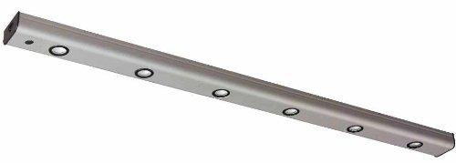 Ledmini2-6Lbn-- 9 Watt Led Light Strip With 3 Way Dimming Switch - Brushed Nickel