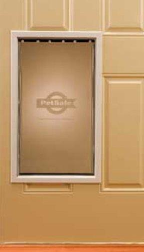 Petsafe Freedom Aluminum Pet Door, Extra-Large, Premium White