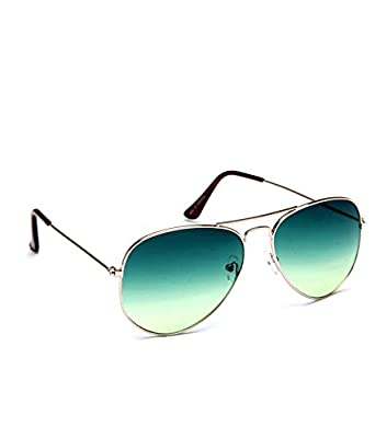 men aviator sunglasses  Derry Men Sunglasses in Aviator Style in Sporty Green: Amazon.in ...