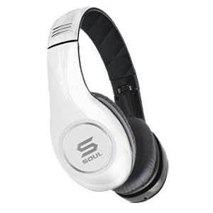 SOUL by Ludacris SL150BW High-Definition On-Ear Headphones (White/Black) at Sears.com