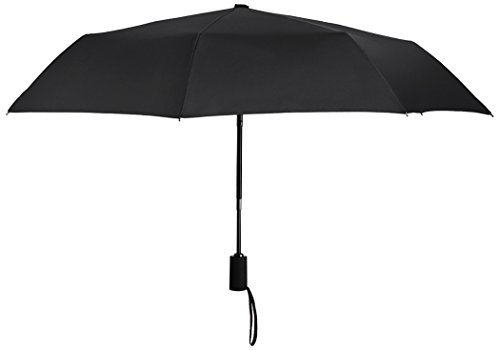Plemo 37-inch Classic Compact Umbrella Automatic Folding Rain Umbrella - Black (Family Rain Umbrella compare prices)