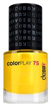 Smalto Per Unghie Debby Colorplay Shocking Colours 75 Giallo