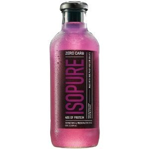 Nature's Best - Isopure Rtd Zero Carb Grape, 12