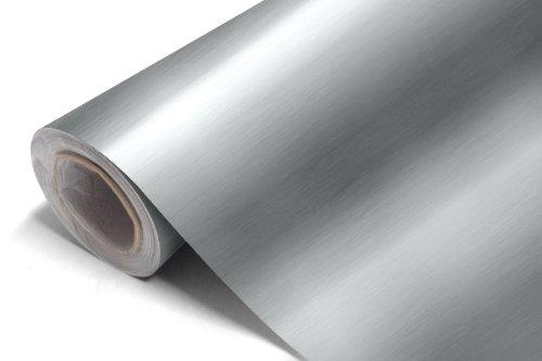 Aluminium-bross-Vinyle-Autocollant-Car-wrap-Colour-dArgent-03m-x152m-118-x598-30cm-x152cm