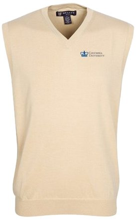 Oxford NCAA Columbia Lions Mens Bristol Sweater Vest by Oxford