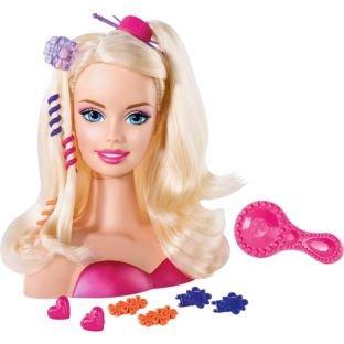 Just Play – 83465 – Imitation Game – Barbie Styling Head Containing 13 Accessories: Brush, Barrettes, Elastic And Tete De Coiffure günstig als Geschenk kaufen