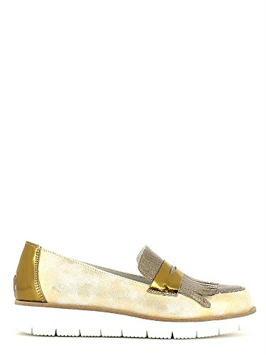 Grace shoes AA51 Mocassino Donna Oro 36