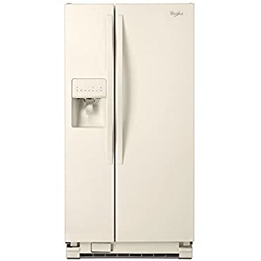 Whirlpool WRS322FDAT 22.0 Cu. Ft. Side-By-Side Refrigerator (Bisque)