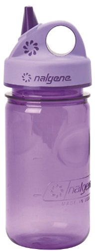 1 X Nalgene Tritan Grip-N-Gulp BPA-Free Water Bottle, Size 11 - 15 oz