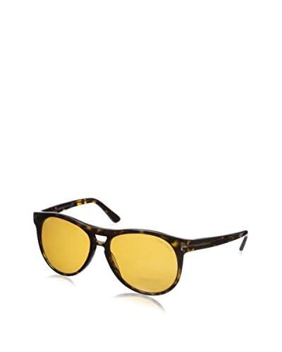 Tom Ford Women's TF289 Callum Dark Sunglasses, Dark Havana