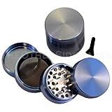 """2.2"""" - Blue 4 Piece SharpStone® Aluminum Herb Grinder"""