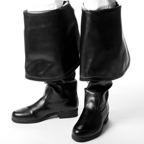 Mens Black Pirate Boots (8) - Buy Mens Black Pirate Boots (8) - Purchase Mens Black Pirate Boots (8) (Century Novelty, Toys & Games,Categories,Pretend Play & Dress-up,Costumes,Accessories)