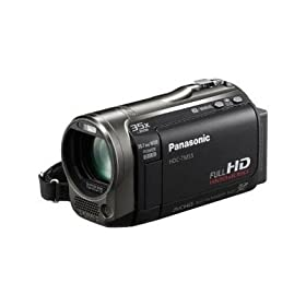 Panasonic HDC-TM55K Hi-Def Camcorder with 8GB Flash Memory & 35X Intelligent Zoom (Black)