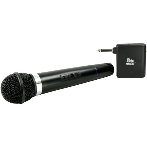 the singing machine wireless headphone microphone set