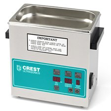 Crest CP1100D (CP1100-D) 3.25 Gal. Ultrasonic Cleaner-Heat & Digital Timer