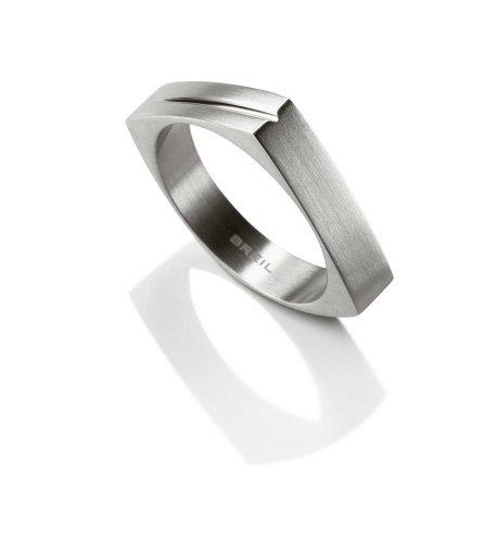 Breil FASHIONRING - Anello male, acciaio inossidabile, misura 59 (18.8)