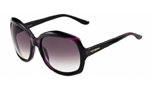Yves Saint Laurent Yves Saint Laurent 6375/S Sunglasses-0785 Purple (J8 Mauve Grad Lens)-58mm