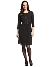 M&S Collection Stud Embellished Pocket Dress