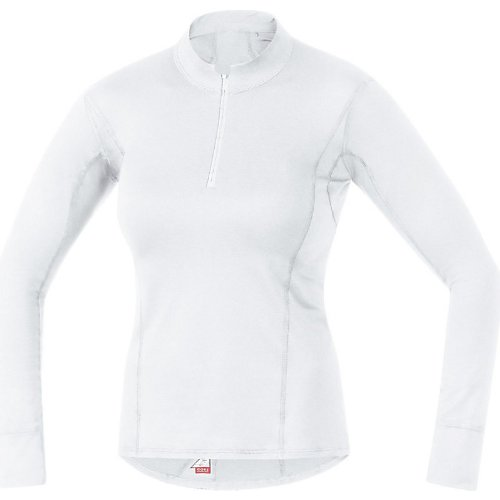 Gore Essential Base Layer Lady Turtleneck WEISS UEWTNL0100