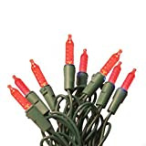 Brilliant Brand Lighting Seasonal Decoration 100 LED M5 Red Light Set w/4