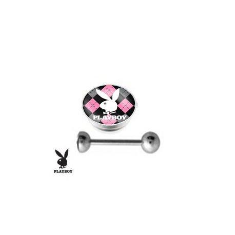 piercing-langue-playboy-losange-rose