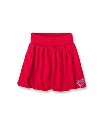 ESPRIT Jupe  Fille - Rouge - Rot (626) - FR : 4 ans (Taille fabricant : 104/110)