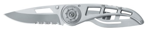 Gerber 22-41616 Ripstop Ii 7-2/5-Inch Length Stainless Steel Serrated Edge Knife