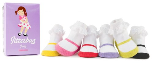 Trumpette Jitterbug Calcetines Jenny, los colores pueden variar, 0-12 meses