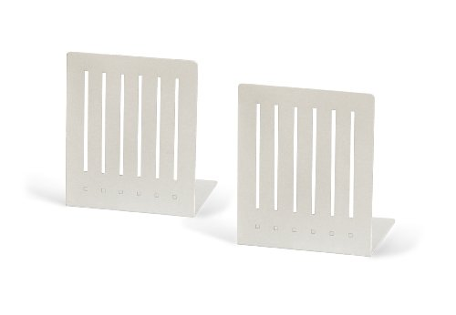 Buy Spectrum 11200 Large Rectangle Bookends White 1-PairB0000ZOTDE Filter