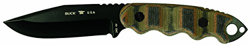 Buck Knives 245 Matt Would Go Fixed Blade Tactical Knife benefiting the Navy SEAL Foundation (Buck Custom Knives compare prices)