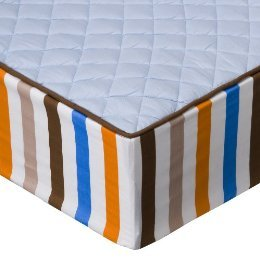 Bacati Mod Sports Changing Pad Cover, Blue