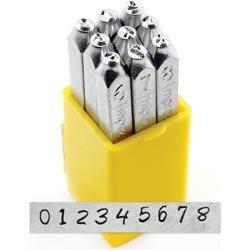 Number Stamp Set 3mm-Bridgette