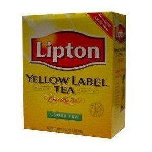 Lipton, Tea Yellow Label, 15.8-Ounce (8 Pack)