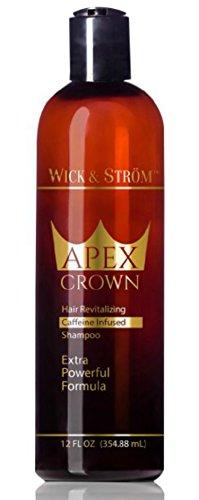 Premium Anti Hair Loss Shampoo -Wick & Ström- NO Minoxidil (Caffeine, Biotin, Saw Palmetto, Aloe Leaf, Ketoconazole +.)Formulated to Stimulate Hair Growth for Men & Women /BIGGER 12oz (Caffeine Extract Hair compare prices)