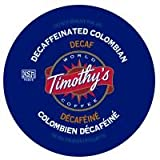 Timothys World Coffee DECAF Colombian 96 K-Cups