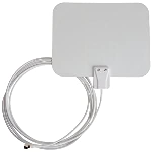AmazonBasics Ultra Thin Indoor HDTV Antenna - Made in USA