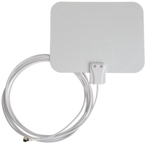 Why Choose AmazonBasics Ultra-Thin Indoor HDTV Antenna - 25 Mile Range