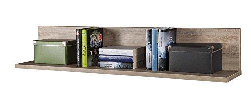 ts-ideen Carrello Portavivande Amadietto con Ruote Libreria Legno Colore Rovere Sonoma