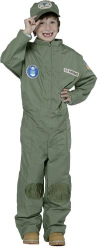 Kid's US Air Force Uniform Costume (Size:7-10)